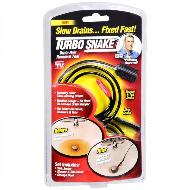 Устройство для прочистки раковин и канализации Turbo Snake