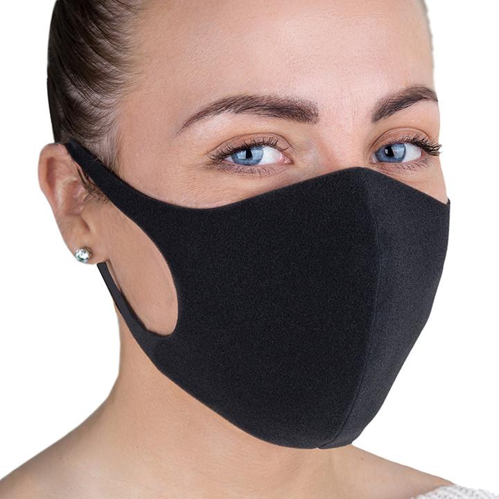Тканевая многоразовая маска (2 шт) PT22 Черный