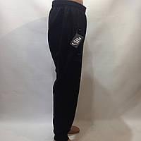 Мужские штаны в стиле Nike (Больших размеров) под манжет черные отличного качества 2xl,3xl,4xl, фото 1