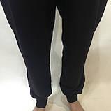 Чоловічі штани в стилі Nike (Великих розмірів) під манжет чорні відмінної якості 2xl,3xl,4xl, фото 6