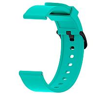 Ремешок силиконовый для смарт-часов 20 мм Smart Bracelet Silicone Turquoise