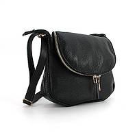Маленькая кожаная сумочка овальной формы Viladi, фото 1