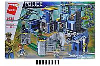 Конструктор Enlighten Brick 1925 полиция, здание, транспорт, фигурки, животные, 961 деталей