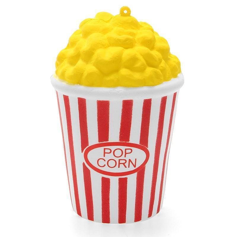 Мягкая игрушка-антистресс сквиш Попкорн