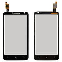 Сенсорный экран (touchscreen) для Lenovo S720, черный, оригинал