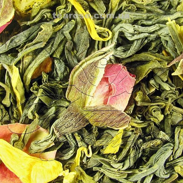 """Зелений ароматизований чай """"Асаї-пассіон"""""""