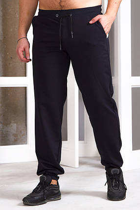 Мужские штаны 755 темно-синие, фото 2