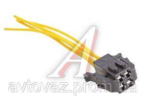 Разъем моторедуктора стеклоочистителя (4-конт.2-х рядная) с проводом ВАЗ 1118, ВАЗ 2111, ВАЗ 2123, ВАЗ 2170