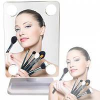 Зеркало для макияжа с LED подсветкой Cosmetie Mirror 360°, фото 1