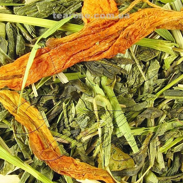 """Зелений ароматизований чай """"Бамбу-янг-ча"""""""