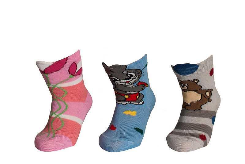 Носки детские демисезонные, для мальчика, 3D, Дюна (размер 08-10)