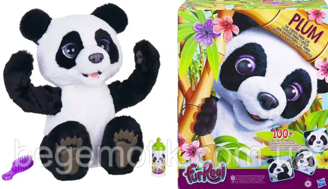 Интерактивный мишка Панда Плам  ФурРиал furReal Plum The Curious Panda