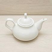 Чайник заварювальний білий, 0,55 л,