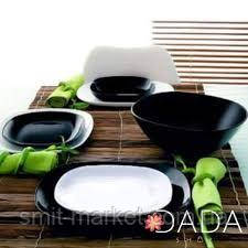 Сервиз столовый Luminarc Carine white&black 19 предметов