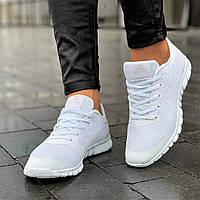 Кроссовки женские для бега белые сетка (Код: Ш1680а)