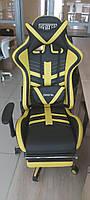 Геймерское кресло VR Racer BattleBee от AMF с подставкой под ноги