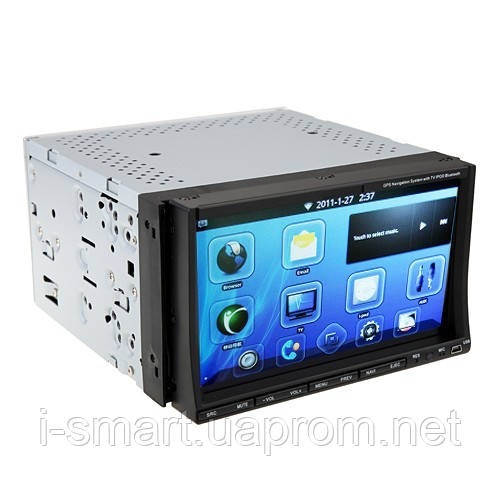 Android 2.3 OS Smart Car DVD Player TV GPS WiFi Bluetooth 7.0 Inch Capacitive Screen
