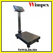 Весы товарные электронные Wimpex до 350 кг с усиленной платформой