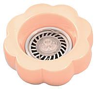 Точечный светильник MR16 L5273A/15 розовый цветок (керамика)