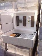 Инкубатор для яиц с авто. переворотом,аналоговый терморегулятор Несушка БИ-1 на 104 яиц с выходом на 12В