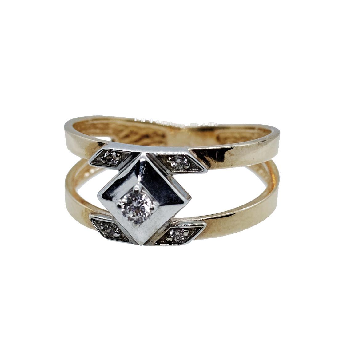 Кольцо (золото 585, р.16.5)