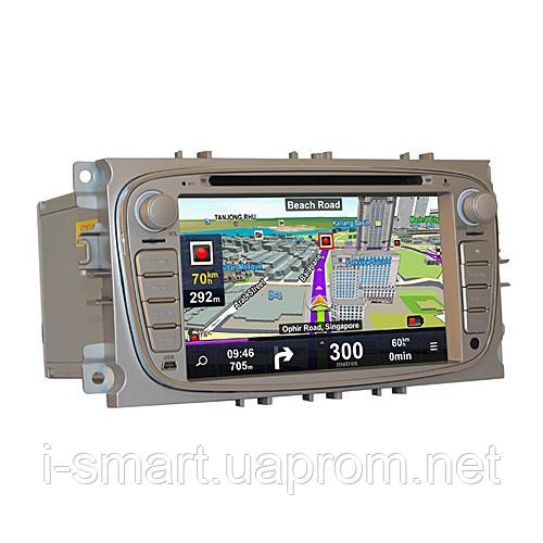 Android 2.3 Smart Car DVD Player CAN-Bus Analog TV GPS 7 Inch for Ford Focus