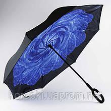 Зонт обратного сложения 156-6 (1706) Длина 81 см, диаметр 106 см.