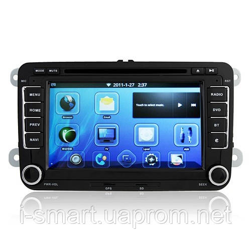 Android 2.3 Smart Car DVD Player CAN-BUS TV GPS 7.0 Inch Screen for Volkswagen