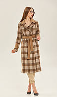 Стильне жіноче пальто в 4 кольорах ПВ-143