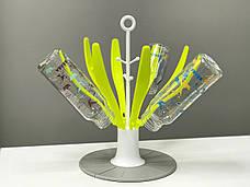 Сушка для пляшок Beaba Квіточка neon, арт. 911617, фото 3