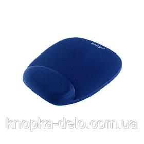 Коврик для мыши Kensington с подушкой под запястье, цвет синий (64271)