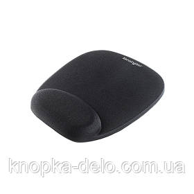 Коврик для мыши Kensington с подушкой под запястье, цвет черный (62384)