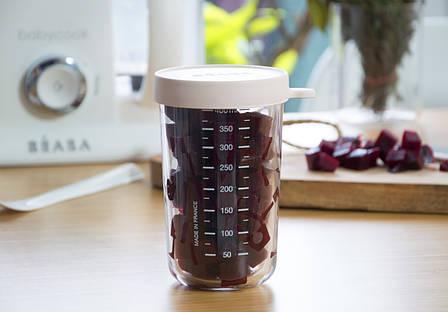 Скляний Контейнер для зберігання Beaba 400 ml pink, арт. 912693, фото 2