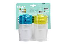 Контейнери для зберігання Beaba Clip Containers 6 шт. (200мл), арт. 912482, фото 3
