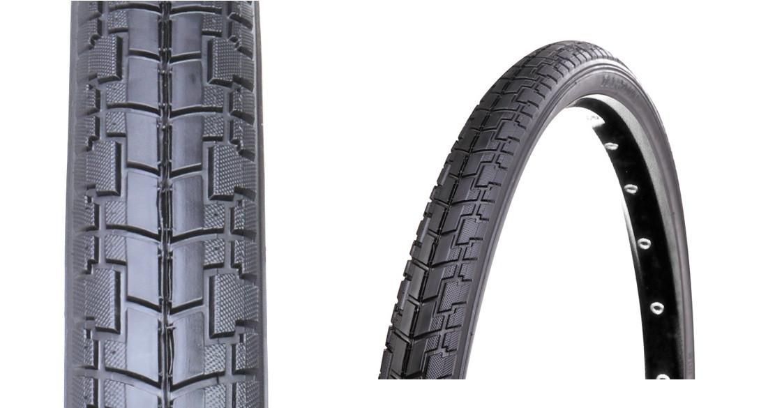 Покрышка велосипедная отличного качества, гладкая 12 1/2x2 1/4 (57-203) D-1006 Deestone (Таиланд)