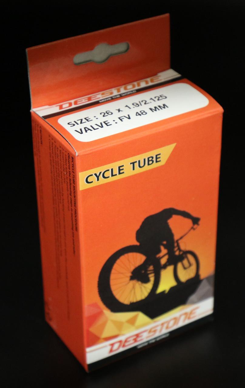 Камера велосипедная 26x1.9/2.125 F/V 48 mm Presta Deestone (Таиланд)