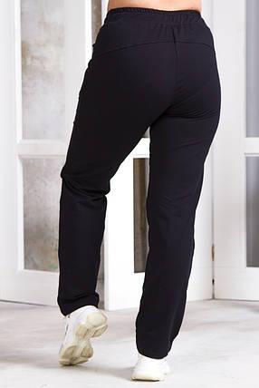 Женские спортивные штаны 5751 темно-синие, фото 2