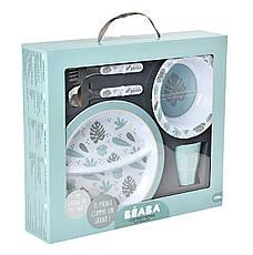 Набір посуду з меламіну Beaba - синій , арт. 913459, фото 2