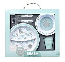 Набір посуду з меламіну Beaba - синій , арт. 913459, фото 3