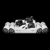 Комплект видеоконтроля (4 видеокамеры) GREEN VISION GV-K-G02/04 720Р, фото 1