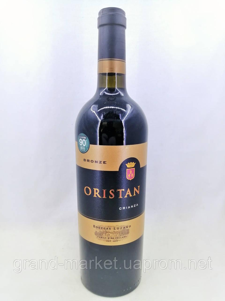 Вино червоне Oristan Crianza 0.75 л