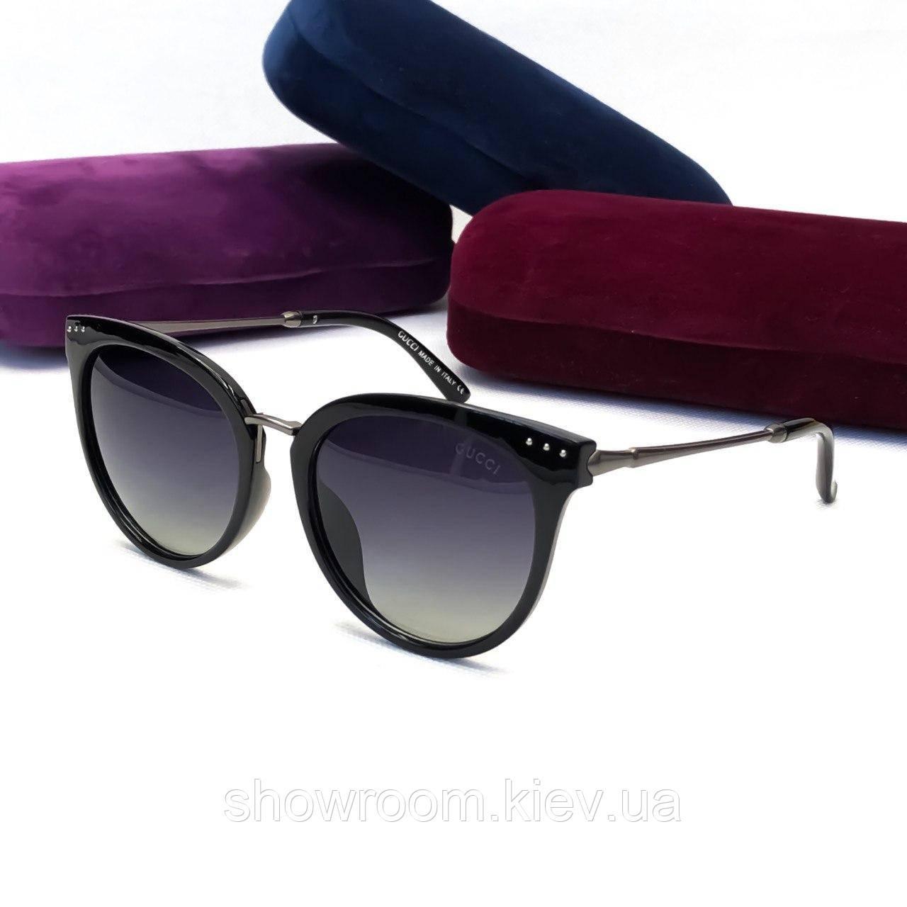 Женские солнцезащитные очки в стиле Gucci (8800) black