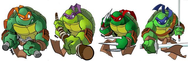 Черепашки ниндзя фото героев мультфильма игры губка боб в вк