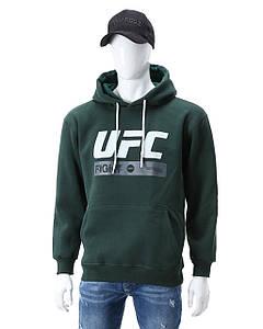Худи осень-зима т зеленый UFC FIGHT с лого Т-2 DGRN XL(Р) 20-471-203