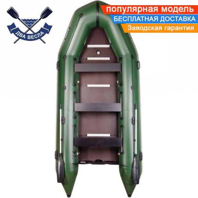 Килевая лодка Bark BT-420S с жестким дном шестиместная надувная лодка ПВХ