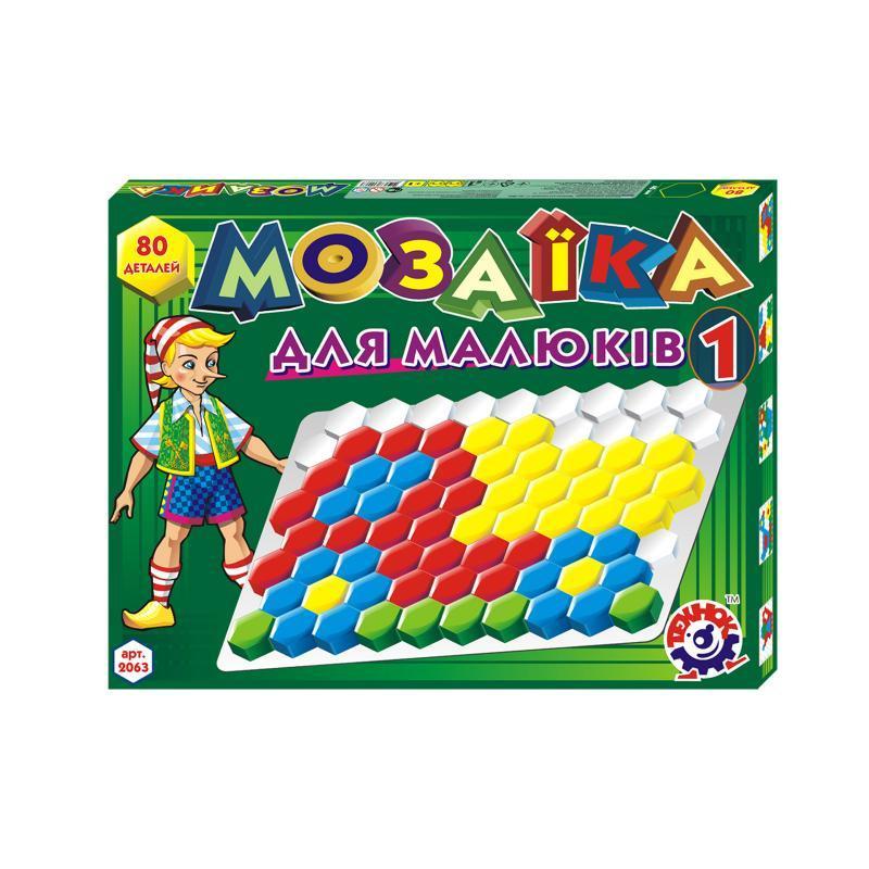 Мозаика для малышей1 (80 елементов)