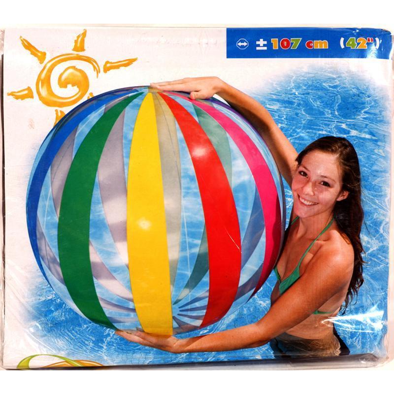 Мяч разноцветный 107 см