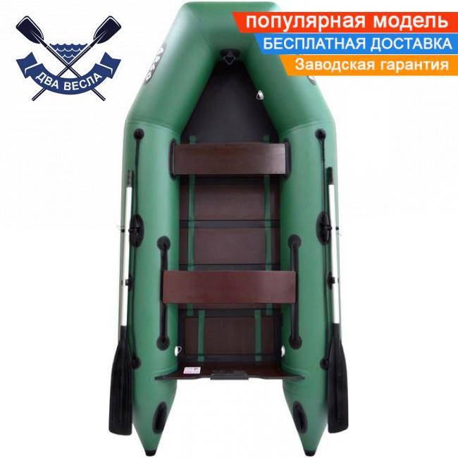 Моторная лодка Argo АМ-290 двухместная с реечным настилом + краска д/номеров