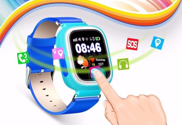 Смарт-часы ATRIX SW iQ400 Touch GPS