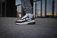 Мужские кроссовки Nike Air Max 270 White Black White ( Реплика )